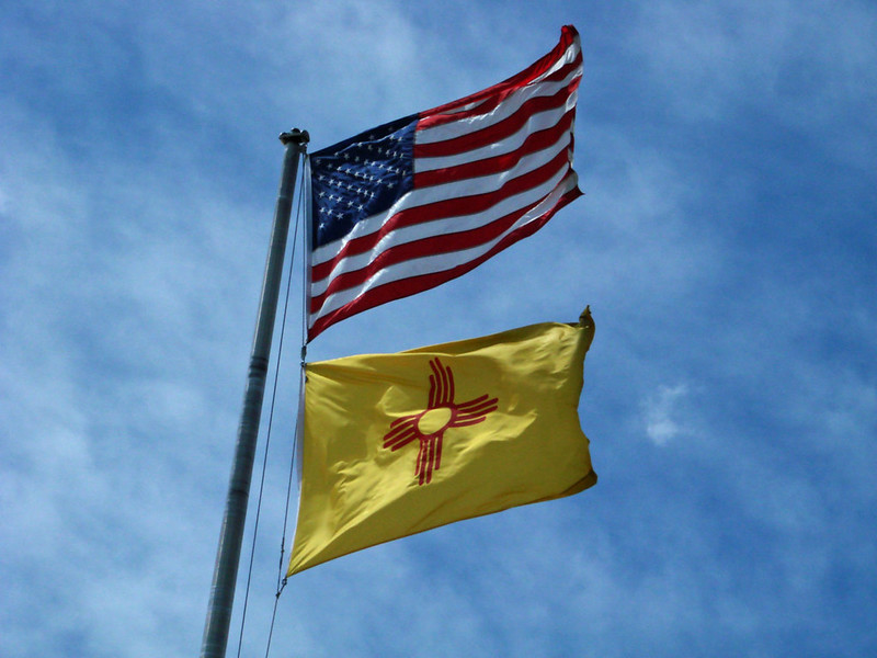 nm and us flags - aflep.org